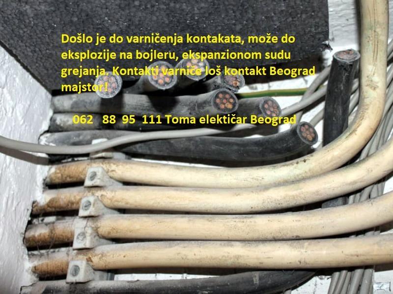 Kontakti varniče loš kontakt Beograd majstor!